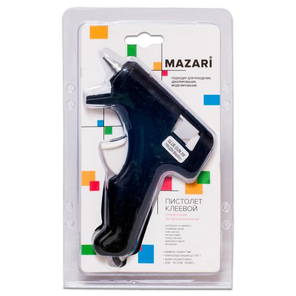 Клеевой пистолет Mazari 20Вт толщина стержня 7мм