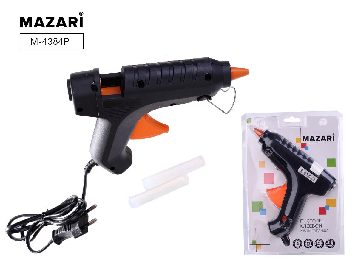 Творч Клеевой пистолет Mazari 40Вт стержень 11мм