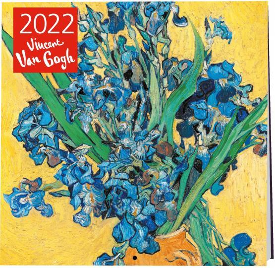 Календарь настенный 2022 Винсент Ван Гог. Ирисы