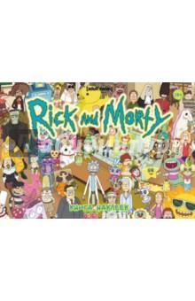 Рик и Морти: Книга наклеек (Стикербук)