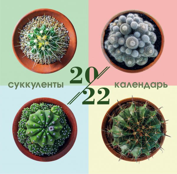 Календарь настенный 2022 Суккуленты