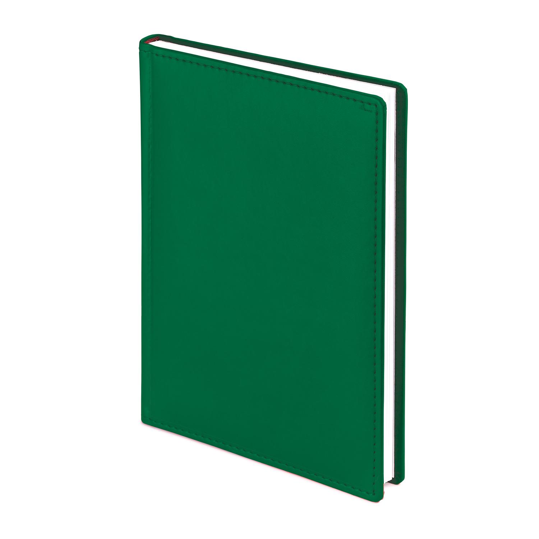Ежедневник А4 BV Velvet темно-зеленый недат