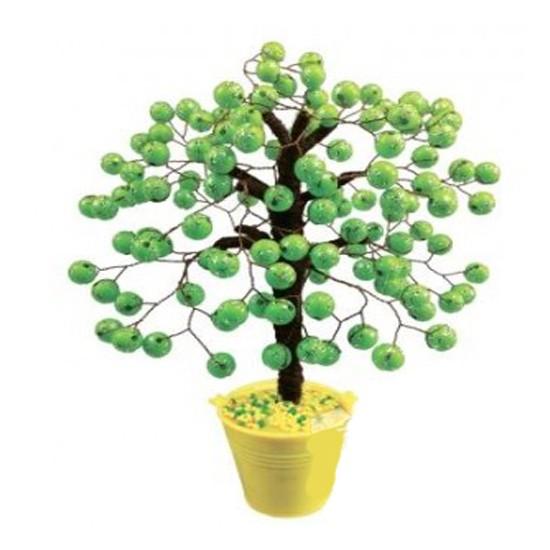 Творч Дерево из бусин Салатовое