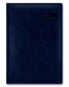 Ежедневник А5 2021г Sarif Image Синий