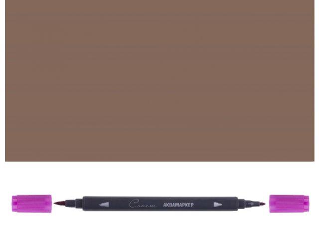 Аквамаркер Сонет двусторонний, коричневый