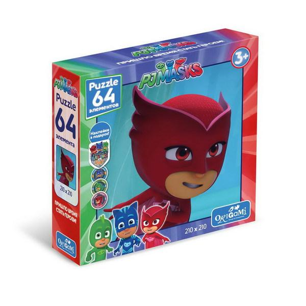 Пазл 64 Origami 04046 Герои в масках Амайя +наклейки