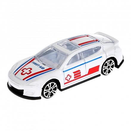 Машина Road Racing 7,5см металл ассорт