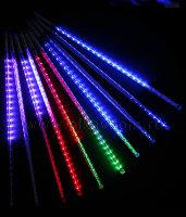 НГ Гирлянда электрическая Занавес 1,8*1,4м прозрачная нить, 108 ламп 8 режи
