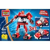 Конструктор Робот 3в1 77дет