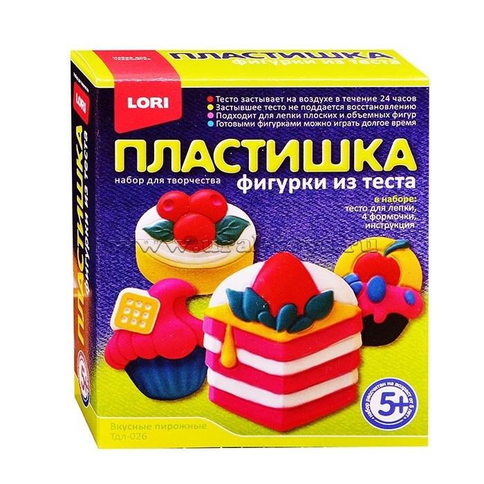 Творч Фигурки из теста Вкусные пирожные