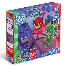Пазл 100 Origami 04050 Герои в масках Спасение мира +наклейки