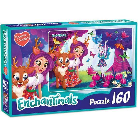 Пазл 160 Origami 03544 Энчантималс Даниэсса и Пэттер+магнитик