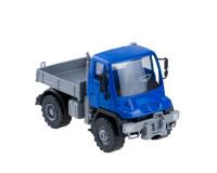 Машина Самосвал бортовой Мерседес Unimog U 500 17,5см синий
