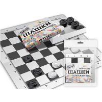 Настольная Шашки классические (коробка с шашками+поле)