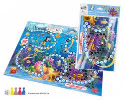 Игра Настольная Морское приключение А2 ходилка