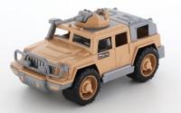 Машина Джип военный Защитник-Сафари с 1 пулеметом