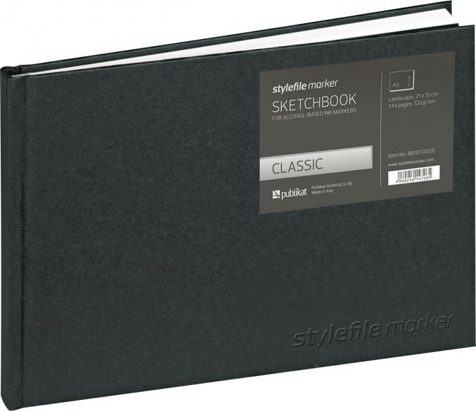 SketchBook А5 144л Stylefile Classic 120г Пейзаж