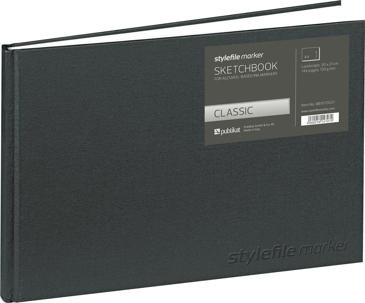 SketchBook А4 144л Stylefile Classic 120г Пейзаж