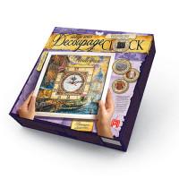 Декупаж Часы с рамкой Decoupage clock