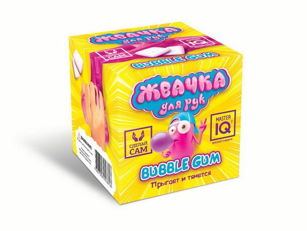 Набор для экспериментов Жвачка для рук Bubble Gum прыгает и тянется