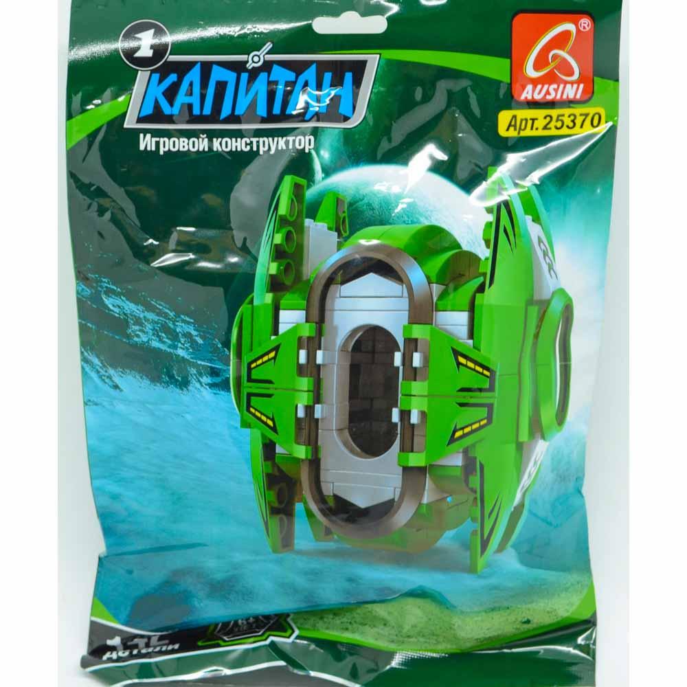 Конструктор Космос: Зеленый модуль (142 дет., фигурка)