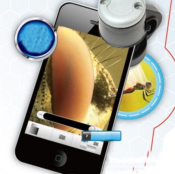 Микроскоп для смартфона 30х
