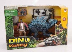 Набор Динозавр Мегалозавр и ловец динозавров