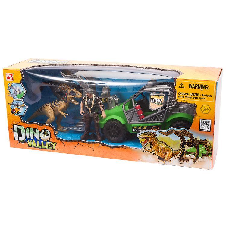 Набор Охотник за динозаврами на джипе