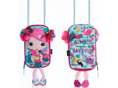 Сумка детская Сумочка-куколка Цветочек