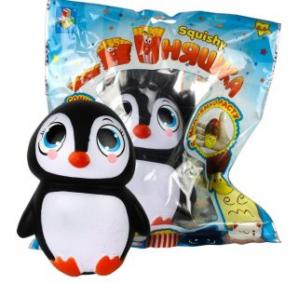 Антистресс Мммняшка squishy (сквиши) пингвин