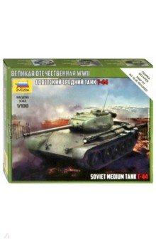 Сборная модель Сов.средний танк Т-44 1/100