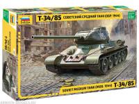 """Сборная модель Советский средний танк """"Т-34/85"""" (обр.1944) 1/35"""