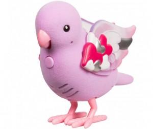Птичка со светящимися крылышками Лучик Сердца, на батар.