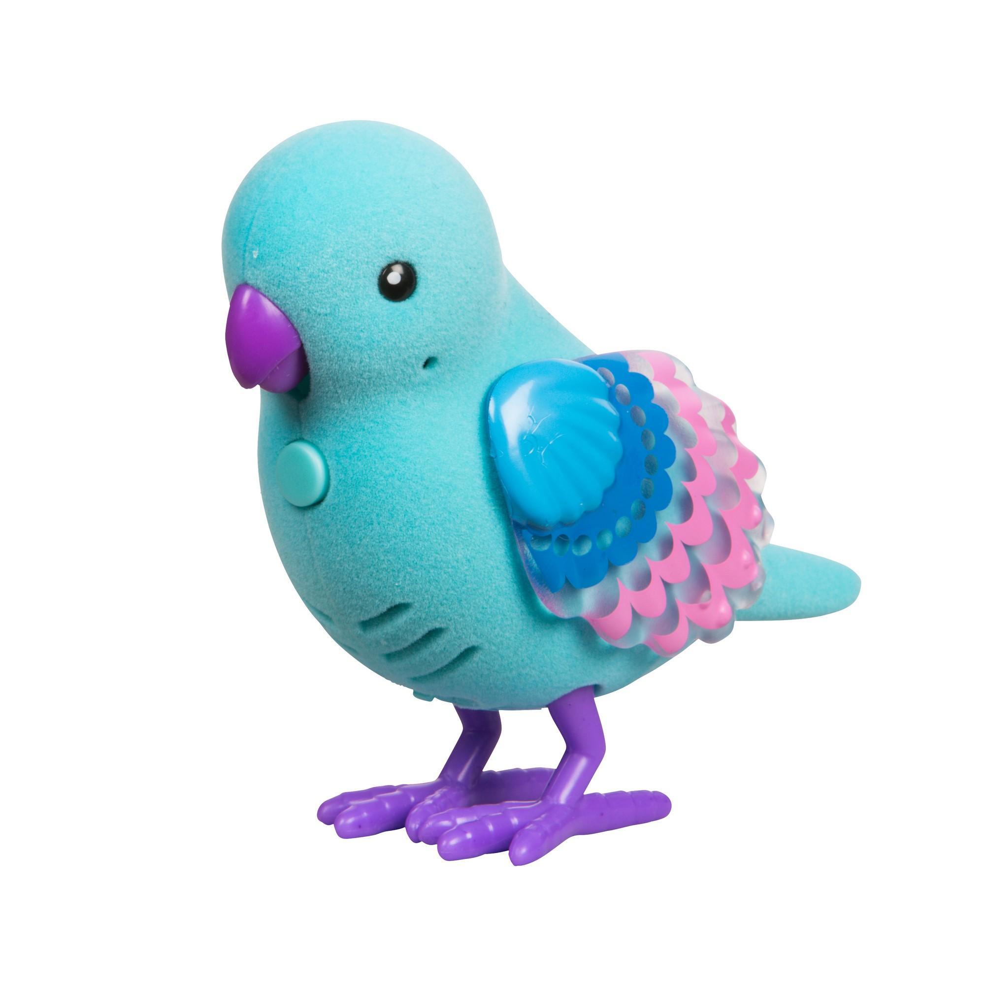 Птичка со светящимися крылышками Жемчужная Ракушка, на батар.