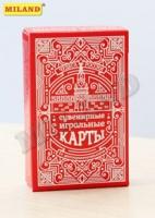 Игра Карты игральные 54шт Чудеса России