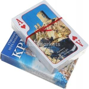 Игра Карты игральные 54шт Крым