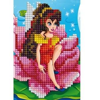 Вышивка алмазная 10х15 Маленькая принцесса