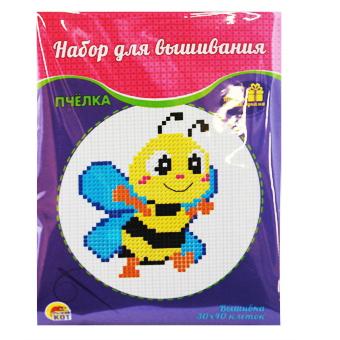 Творч Набор для вышивания 33х40 Пчелка