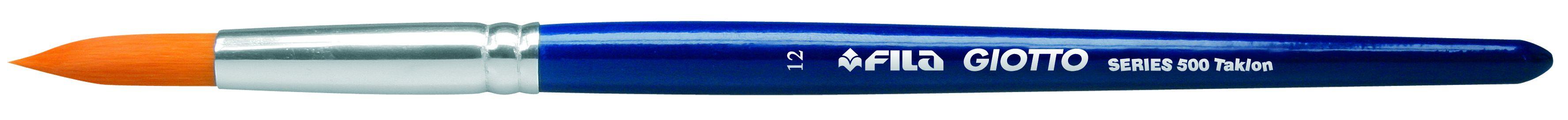 Кисть синтетика № 12 круглая GIOTTO BRUSH ART 500