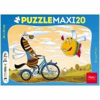 Пазл Maxi 20 Летающие звери 16,5х23 см