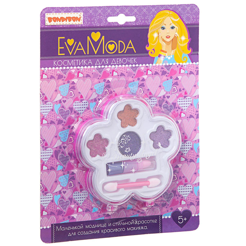 Набор детской декоративной косметики Bondibon Eva Moda Цветок с помадой