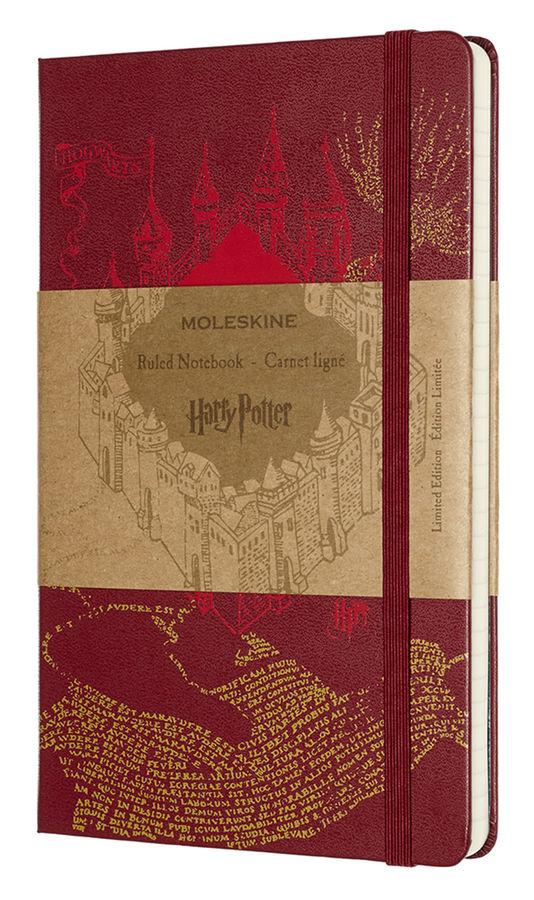 Блокнот А5 240л Moleskine Limited Edition Гарри Поттер красный