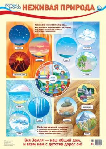 Плакат Неживая природа А2 вертик