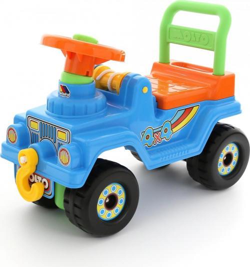 Автомобиль Джип 4х4 - №4 (голубой)