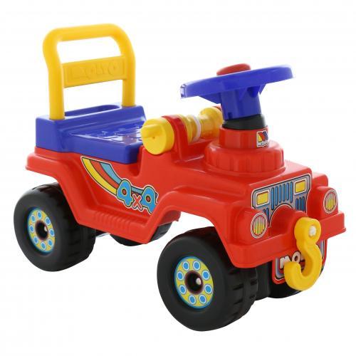Автомобиль Джип 4х4 - №4 (красный)
