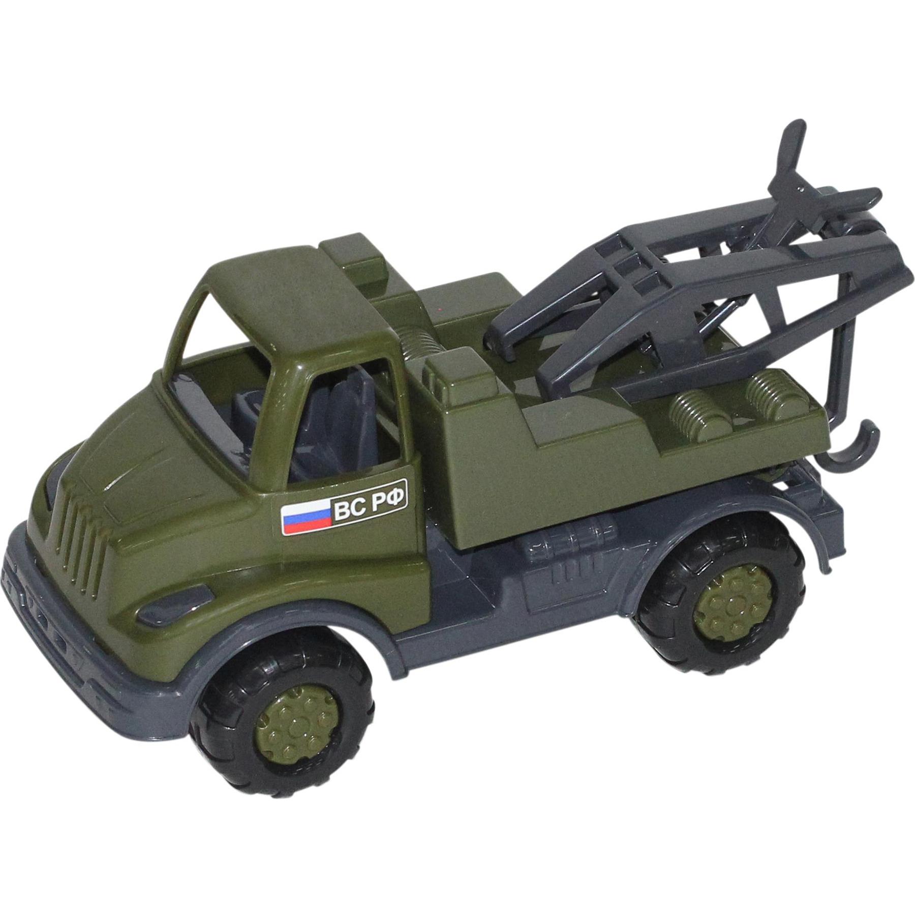 Автомобиль эвакуатор военный Кнопик