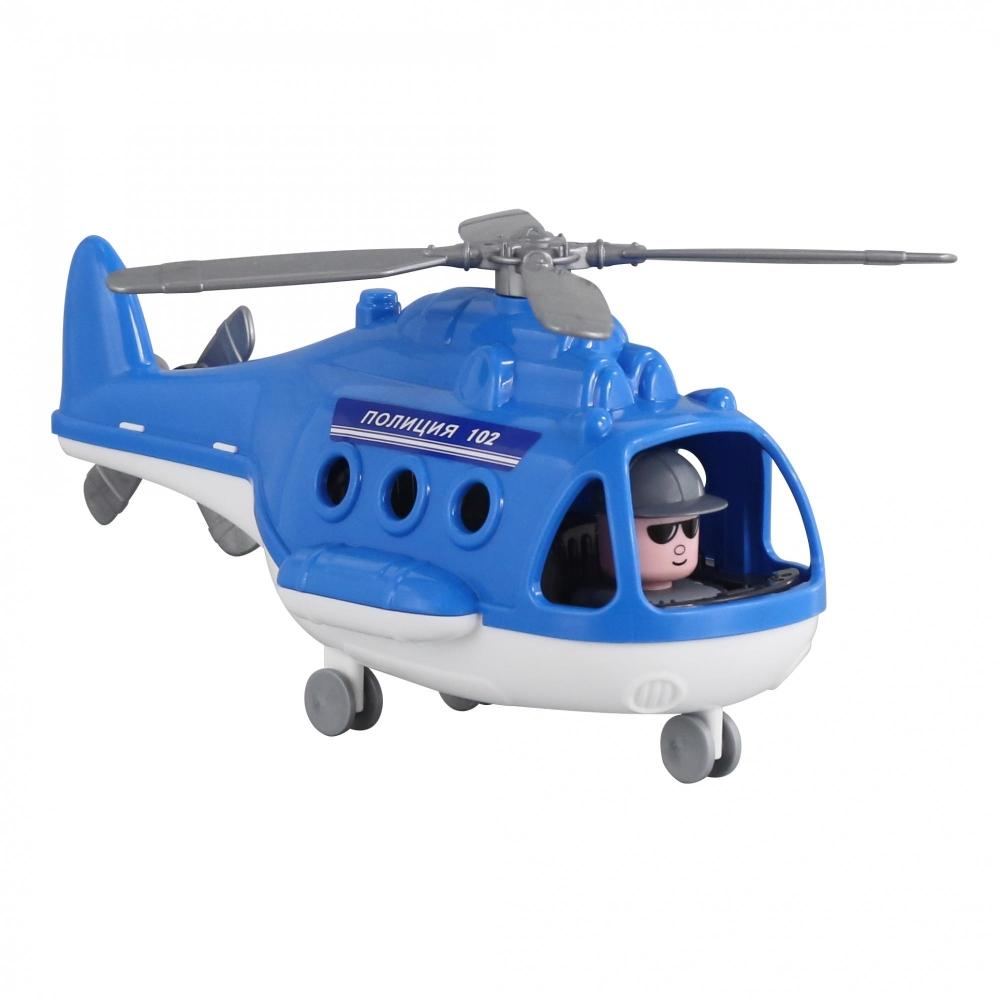 Вертолет - полиция Альфа 26см пласт