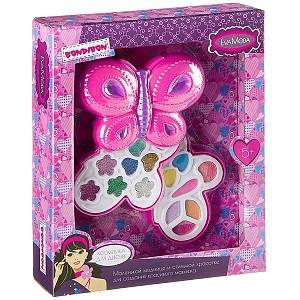Набор детской декоративной косметики Bondibon Eva Moda Косметичка-бабоч