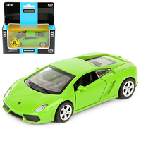 Машина Lamborghini Gallardo LP560-4 дв.откр., цв.зелен., инерц., металл