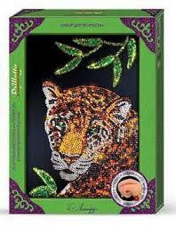 Творч Мозаика из пайеток большая Гепард